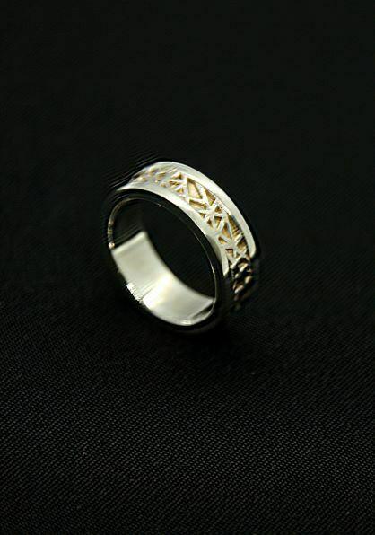 anillo tipo alianza